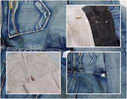 Lote calça jeans infantil