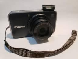 Câmera Canon PowerShot SX 210 IS + Bateria Extra