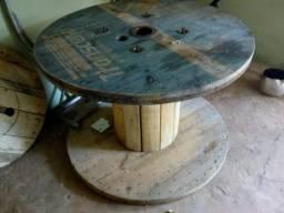 Bobina de madeira