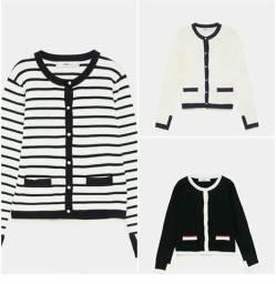 Casaco de tricô da Zara