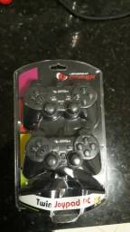 Leadership Gamer Twin Joypad PC (novo)