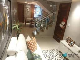 Casa com 3 dormitórios à venda, 112 m² por R$ 309.000 - Guaribas - Eusébio/CE