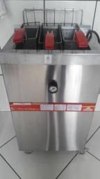 Fritadeira Industrial + Baldes térmicos
