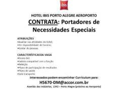 Contrata-se Portadores de Necessidades Especiais