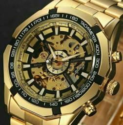 Lindo relógio original luxo automático