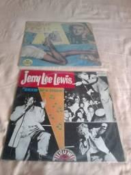 Raridades ¨coleção com 3 LPs jerry lee lewis zap 98762-7274 ou 98409-8437