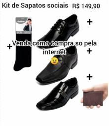 Kit De Calçados Masculinos Selten