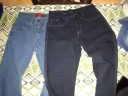 Duas calças masculinas nº 38 novas