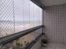 Apartamento com 3 dormitórios para alugar, 101 m² por R$ 2.600,00/mês - Aviação - Praia Gr