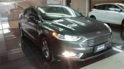 FORD FUSION SEL FWD 2.0 16V GTDI AT Cinza 2017/2017