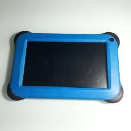 Tablet Multilaser Kid Pad Quad Core 8Gb Tela 7` Android 4.4 Azul Nb194 comprar usado  Rio de Janeiro