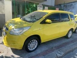 Gm spin lt 1.8 linda, ex taxi, aprovação imediata, s/ comprovação de renda