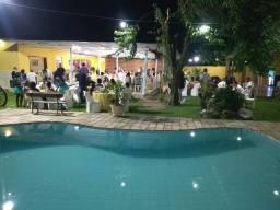 SÍTIO COM PISCINA FESTAS R$1.500,