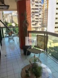 Apartamento com 3 dormitórios à venda, 190 m² por R$ 1.390.000 - Icaraí - Niterói/RJ