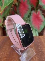 Smartwatch p8 relógio inteligente controle de sono notificações