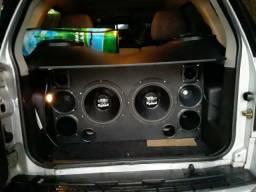Caixa de som para carro