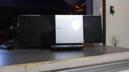 IMPERDÍVEL!! Som Panasonic SC-HC35