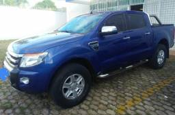 Caminhonete Ford ranger XLT 3.2 ano 2012/13 4x4 a diesel - 2013