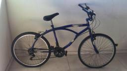Bicicleta Beach azul com Marchas