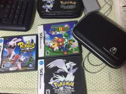 Nintendo DS XL - Dois games portáteis com vários jogos