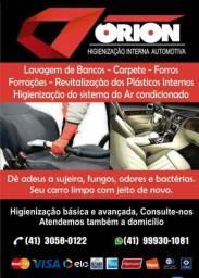 Higienização automotiva,estética automotiva