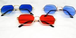 Óculos Octagonal e Hexagonal