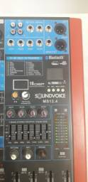 Mesa de som soundvoice MS 12.4