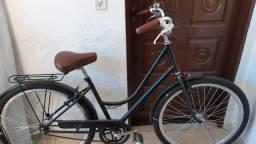 Bicicleta retrô feminina