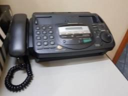 Telefone fax LX-FT 67, com secretária eletrônico