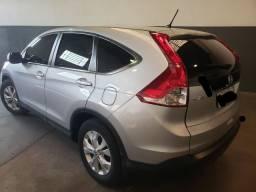 Vendo Linda CRV LX 2.0 Automatica - 2012 -  Prata - 90 mil KM