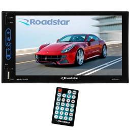 Central Multimídia Roadstar Touch Screen - RS- 500MP5 - Universal 2'Din