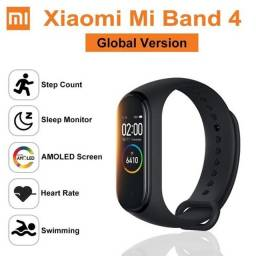 Smartwatch Xaiomi Mi band 4 Relógio Inteligente Original Versão Global