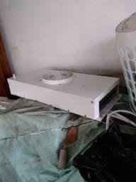 R$ 1500 evaporadora e condensadora para câmara fria