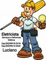 Título do anúncio: Eletricista Disponível Esse Resouve !;