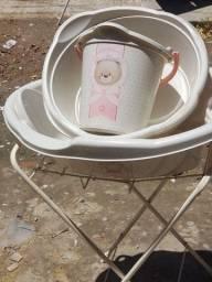Título do anúncio: Kit de banho para bebê