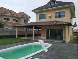 Título do anúncio: Excelente casa com 3 suítes à 400m da praia na Condomínio Reserva da Sahy