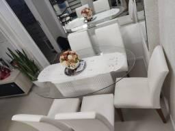 Título do anúncio: Mesa jantar com 06 cadeiras