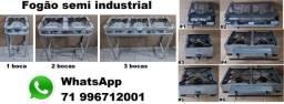 Fogão semi industrial alta pressão