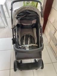 Carrinho de bebê c bebê conforto burigotto