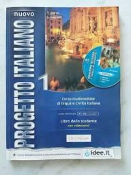 Título do anúncio: Nuovo Progetto Italiano 1 - Libro Dello Studente Con DVD Video - Edilingua Edizioni