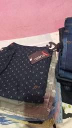 Título do anúncio: Lindas bermudas e  calças apartir 25 $ e calças apartir 120$