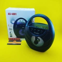 Caixinha de Som ( Bluetooth ) Recarregavel - AS-4001