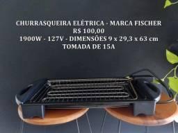 Título do anúncio: Churrasqueira elétrica - Fischer 1900W - 127V