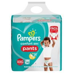 Título do anúncio: Promoção Fraldas Pampers Pants M/84 Fraldas G/72 Fraldas XG/66 Fraldas XXG/60 Fraldas