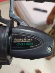 Vara de pescar nova DF:1000(nunca foi usada)