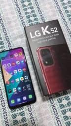 Celular LG k52 semi-novo