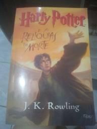 Livro Harry Potter relíquia da morte