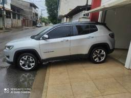 Título do anúncio: Jeep Compass limited 2017 prata