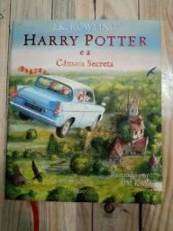 Título do anúncio: Livro Harry Potter E A Camara Secreta - Ilustrado Capa Dura