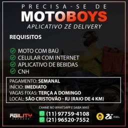 Título do anúncio: Motoboy para aplicativo